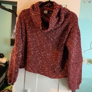 FASHIONNOVA L Cropped Turtleneck Sweater